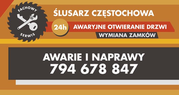 Wspaniały Pogotowie Ślusarskie 24 , wymiana zamków Częstochowa,Awaryjne MY88